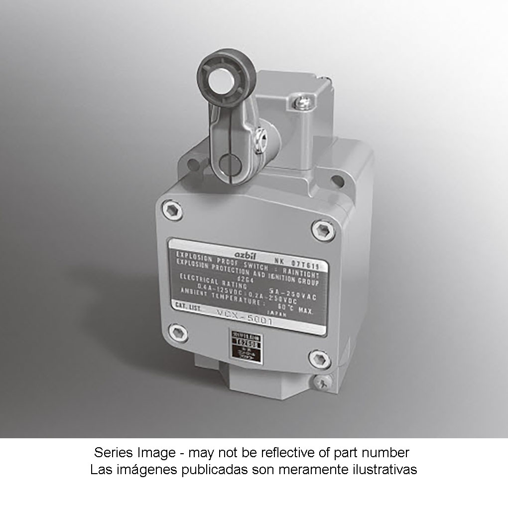 2-Point Detection Explosion-Proof Switches Compliant with IEC Standards
